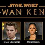 'Obi-Wan Kenobi': Disney+ anuncia el reparto completo de la nueva serie de 'Star Wars' con Ewan McGregor y Hayden Christensen