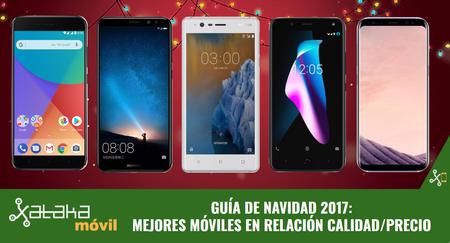 Guía de compras de Navidad: los smartphones con mejor calidad-precio