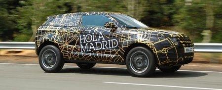 Land Rover se une con el Evoque a la moda de mostrar los prototipos