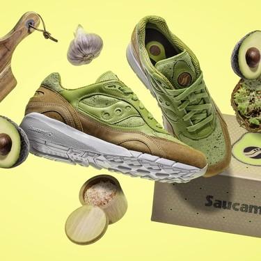 Aguacate hasta en los zapatos: estos tenis están inspirados en las tostadas de aguacate para el desayuno