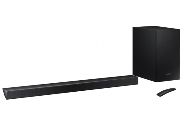 Barra de sonido Samsung/Harman Kardon HW-Q70R/ZF con subwoofer inalámbrico