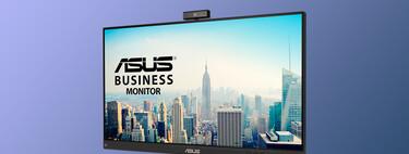 """El monitor de Asus de 24"""" ideal para teletrabajo con webcam Full HD está rebajado a su precio mínimo de 159,99 euros en Amazon"""