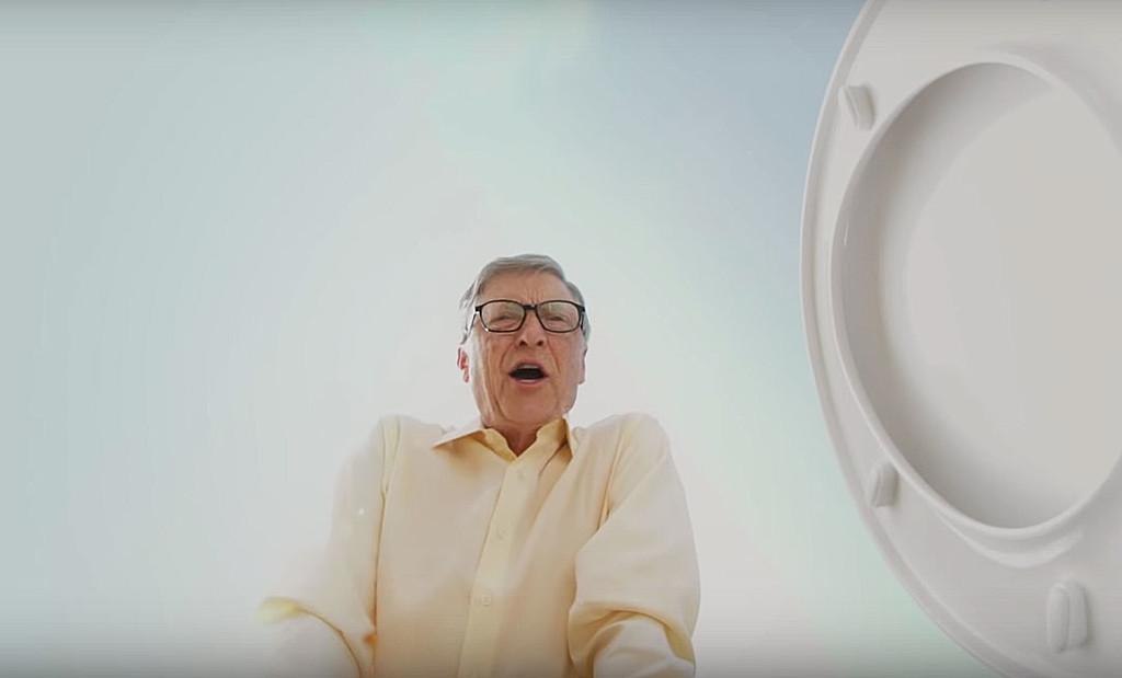 Bill Gates quiere reinventar el WC con inodoros