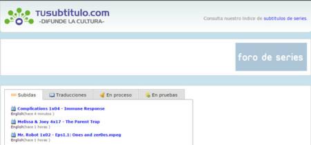 Tusubtitulo.com es el heredero de Subtitulos.es y ya está online