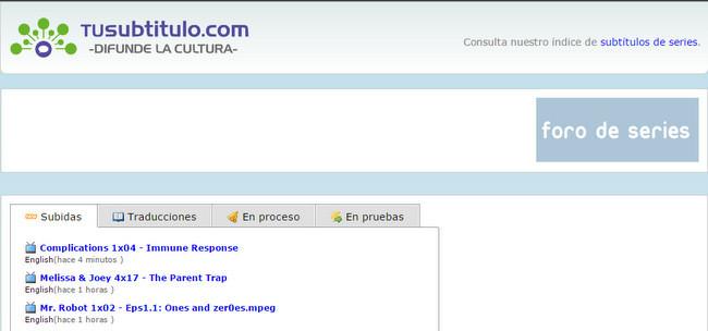 Tusubtitulo.com es el heredero de Subtitulos.es