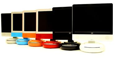 Nexxion Curve LCD, con DVD integrado