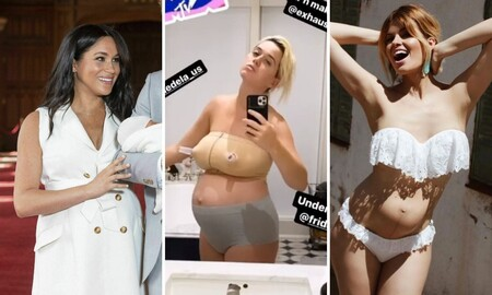 17 famosas que mostraron con orgullo y sin complejos sus cuerpos postparto