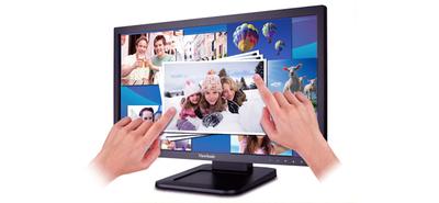 ViewSonic TD2220, un monitor LED Full HD con tecnología táctil óptica multipunto