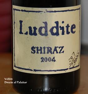 Luddite Shiraz 2004, un potente vino sudafricano
