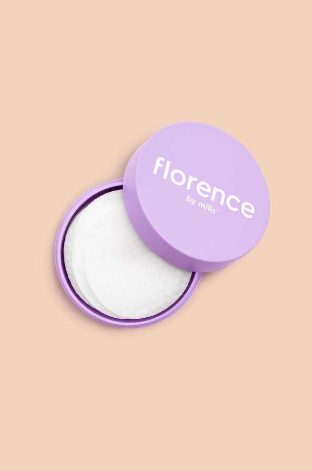 Florence by Mills Discos Limpiadores One Swipe Glow Wipe Treatment Pads