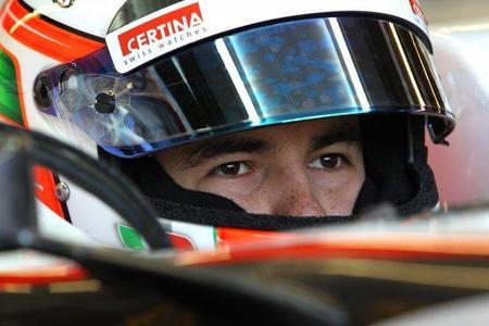 Sergio Pérez estará listo para el Gran Premio de Europa
