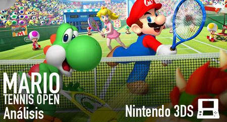 'Mario Tennis Open': análisis