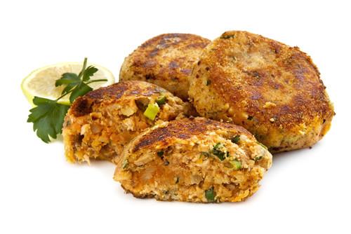Cenas proteicas rápidas y fáciles: hamburguesas de salmón (XIII)