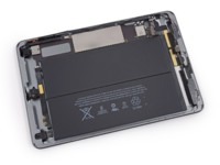 iFixIt desmonta el iPad mini retina: mucha batería, poca reparabilidad