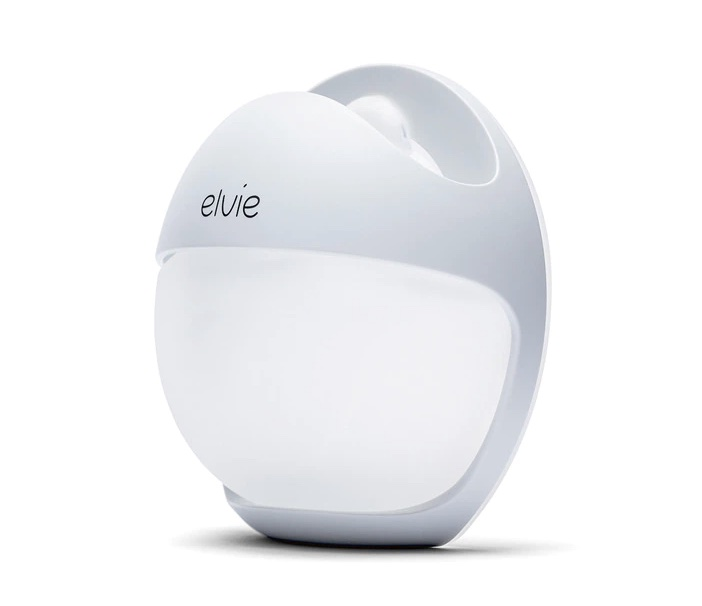 ELVIE Sacaleches manual Elvie Curve de silicona blanco