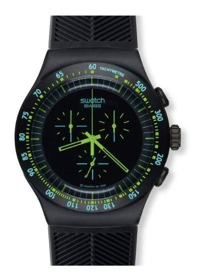 Swatch Chrono Black