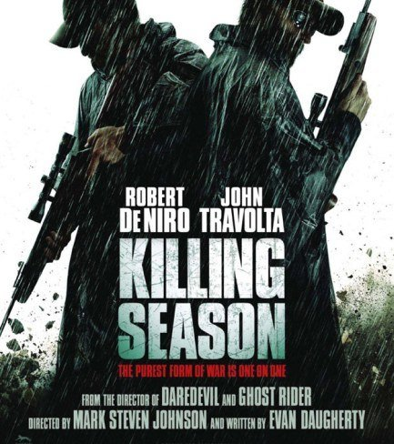 Robert de Niro y John Travolta, cara a cara en 'Killing Season'