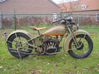 Harley Davidson Flathead DL 1929