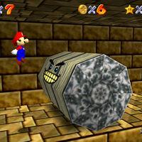 Super Mario 64: cómo conseguir la estrella Inside the Ancient Pyramid de Shifting Sand Land