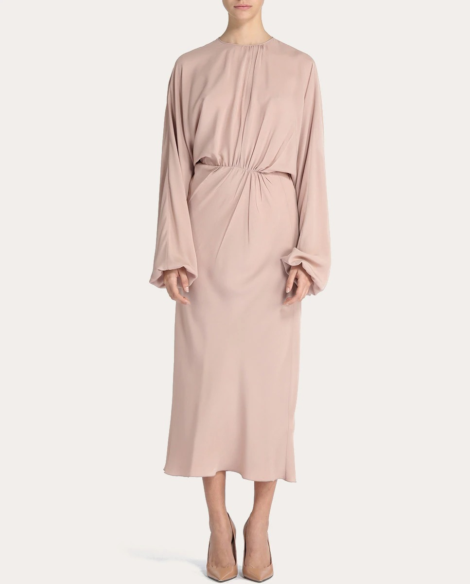 Vestido fruncido de Nº21
