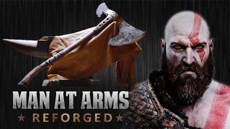 Recrean el hacha de Kratos en el nuevo God of War