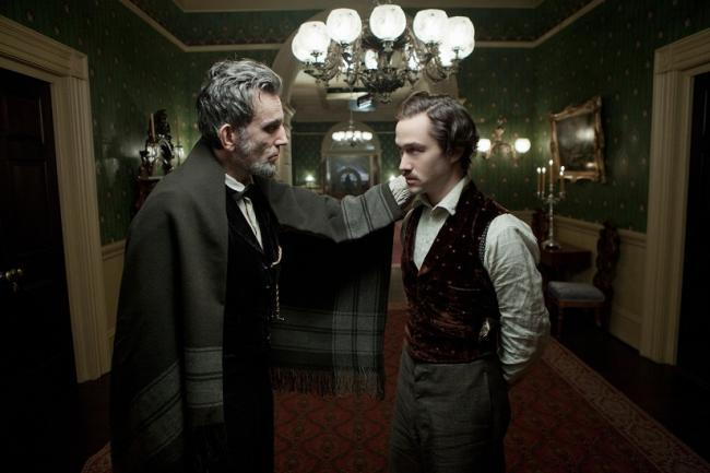Daniel Day-Lewis y Joseph Gordon-Levitt en 'Lincoln'