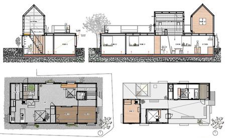Casas poco convencionales viviendo en peque os invernaderos - Invernadero para casa ...