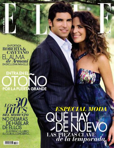 Cayetano Rivera tremendo en la portada de Elle