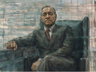 Frank Underwood en el Museo Smithsonian, la imagen de la semana