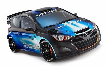 Hyundai renueva los colores de su i20 WRC