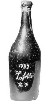 Château Lafitte de 1787, el posible fraude de un vino histórico