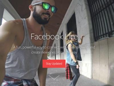 Facebook Live prepara sus propios filtros al más puro estilo Snapchat