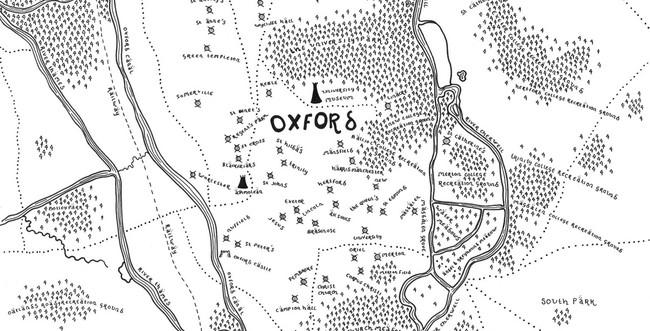 Dan Bell recrea Reino Unido a través de mapas estilo Tolkien