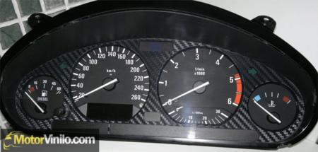 BMW E36 vinilado interior