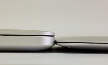 MacBook Pro Retina vs MacBook Air delantero
