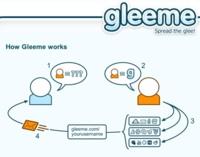 Gleeme, creando nuestra vcard con nuestros perfiles de servicios web