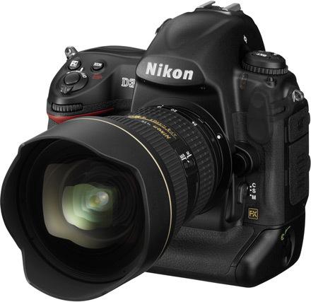 Nikon D3X escondida en el firmware