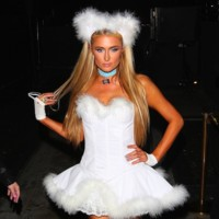 Paris Hilton Halloween 2014