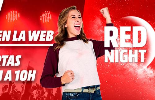 Red Night en MediaMarkt: fieles a su cita semanal, llegan las mejores ofertas de la semana en la Tienda Roja [Finalizado]