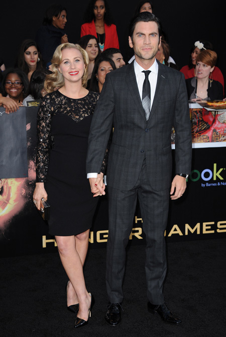 Wes Bentley Hunger-Games-Premiere