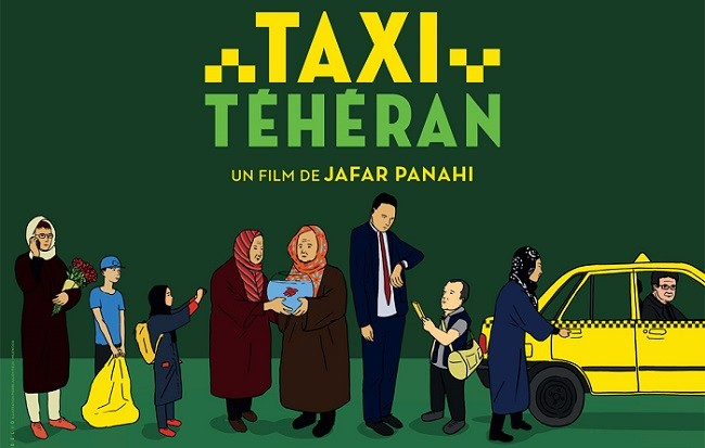 Cartel de la película 'Taxi Teherán'