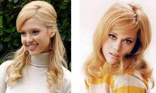 Los peinados de las famosas copian al pasado