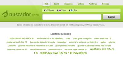 Buscador.com agrega resultados de múltiples buscadores