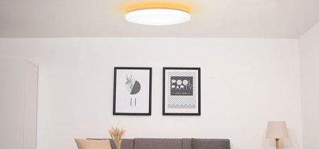 La iluminación vía LED también viene por parte de Xiaomi que lanza dos nuevas lámparas de techo