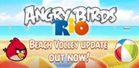 Angry Birds Rio: Beach Volley, ya disponible la actualización en el Android Market