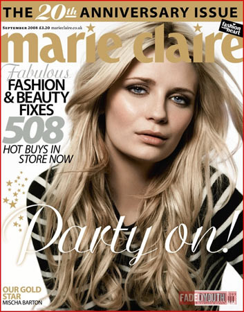 Mischa Barton para Marie Claire UK