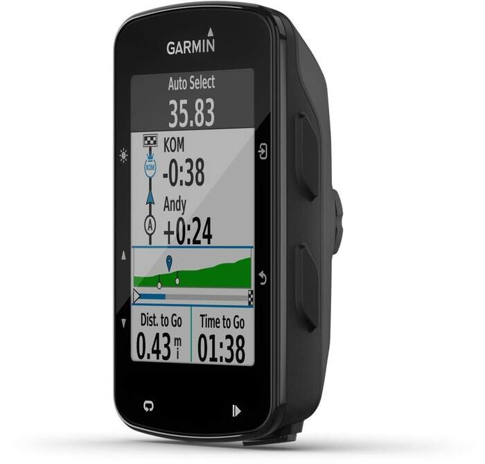 GPS Garmin Edge 520 Plus - Bici, Strava, LiveTrack, GroupTrack, VO2Máx., FTP, ANT+, Best Bike Split