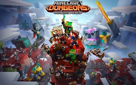 Minecraft: Dungeons se ampliará una vez más con la expansión Howling Peaks y nuevos niveles de dificultad
