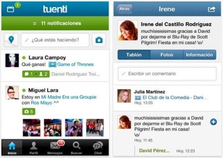 Tuenti se renueva y lanza su nueva aplicación para iOS