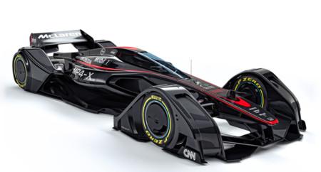 McLaren MP4-X, así se imagina la escudería británica el futuro de la Fórmula 1